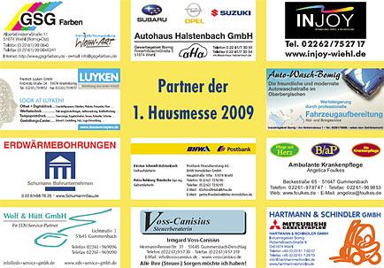 Partner der Hausmesse 2009