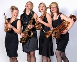 Saxophon-Quartett Sistergold