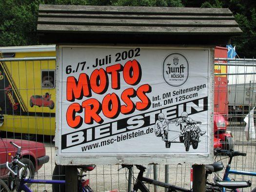 Motocross in Bielstein - Foto: Günther Melzer