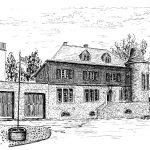 4. Altes Postamt – Die erste Postagentur wurde 1872 nahe der Wollgarnspinnerei Kattwinkel (heute Erzquell Brauerei) eingerichtet. Nach Unterbringung in zwei anderen Gebäuden bezogen die Beamten im Jahre 1927 die Poststelle in dem massiven Bruchsteingebäude.