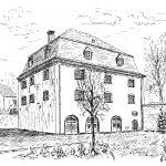 9. Burghaus – Um das etwa 1720 erbaute Burghaus und den dort entstandenen Ort Neubielstein entwickelte sich durch Zusammenschluss einzelner umliegender Gehöfte im Jahr 1901 die Gemeinde Bielstein. Das Burghaus ist heute das kulturelle Zentrum der Stadt Wiehl.