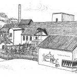 """12. Erzquell Brauerei – Am Standort des zweiten """"Reckhammers"""" gründeten die Fabrikanten E. Kind und K. Kattwinkel 1872 eine Wollgarnspinnerei. Aus diesem Betrieb entstand im Jahre 1897 die weithin bekannte heutige Erzquell Brauerei."""