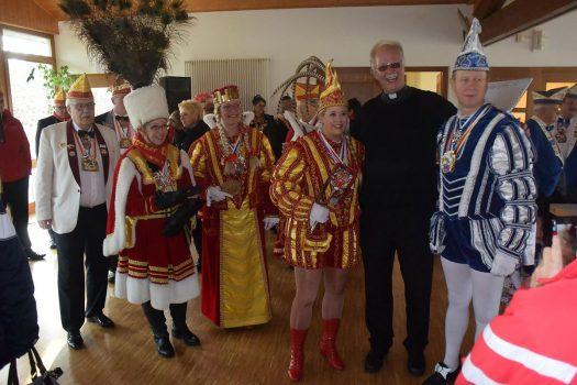 Karnevalistische Messe in Bielstein - Foto: Hansjörg Wiersch