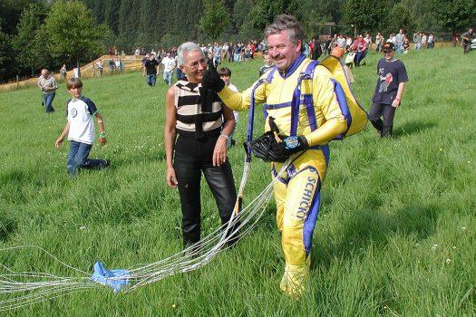 Jürgen W. Möllemann landete in Bielstein - Foto: Christian Melzer