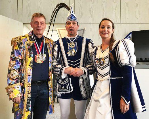 Bodo Löttgen und das Bielsteiner Prinzenpaar