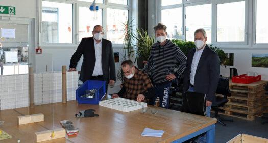 Durch die Sanierung ist nun Platz für vier Produktionsgruppen entstanden, in denen sich sowohl die Menschen mit Beeinträchtigung als auch die Mitarbeiter wohl fühlen können. Foto: BWO/F. Jansen
