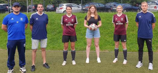 Von links: Daniel Prückl, Pierre Achenbach, Nadine Schilling, Vivian Schulte, Jasmina Jautze, Nils Marschall