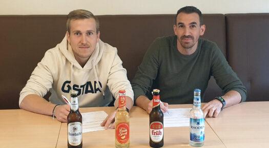 Pierre Achenbach und Nils Marschall